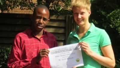 INISA Stipendiat 2013: Besuch bei Keith Katyora